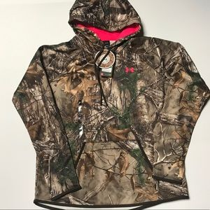 Under Armour x Realtree water-Resistant hoodie